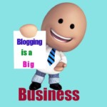 is blogging a business?